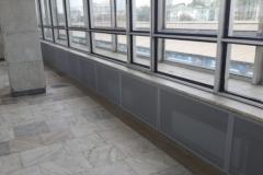 2_11 Металлические экраны. Зал ожидания, Белорусский вокзал