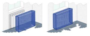экраны и решетки для батарей отопления