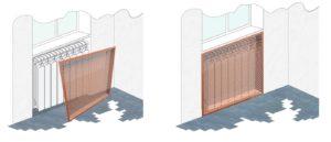металлические решетки для радиатора отопления