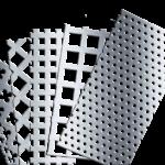 металлические перфорированные листы