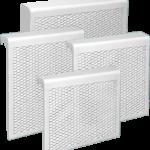 металлические экраны для радиаторов отопления